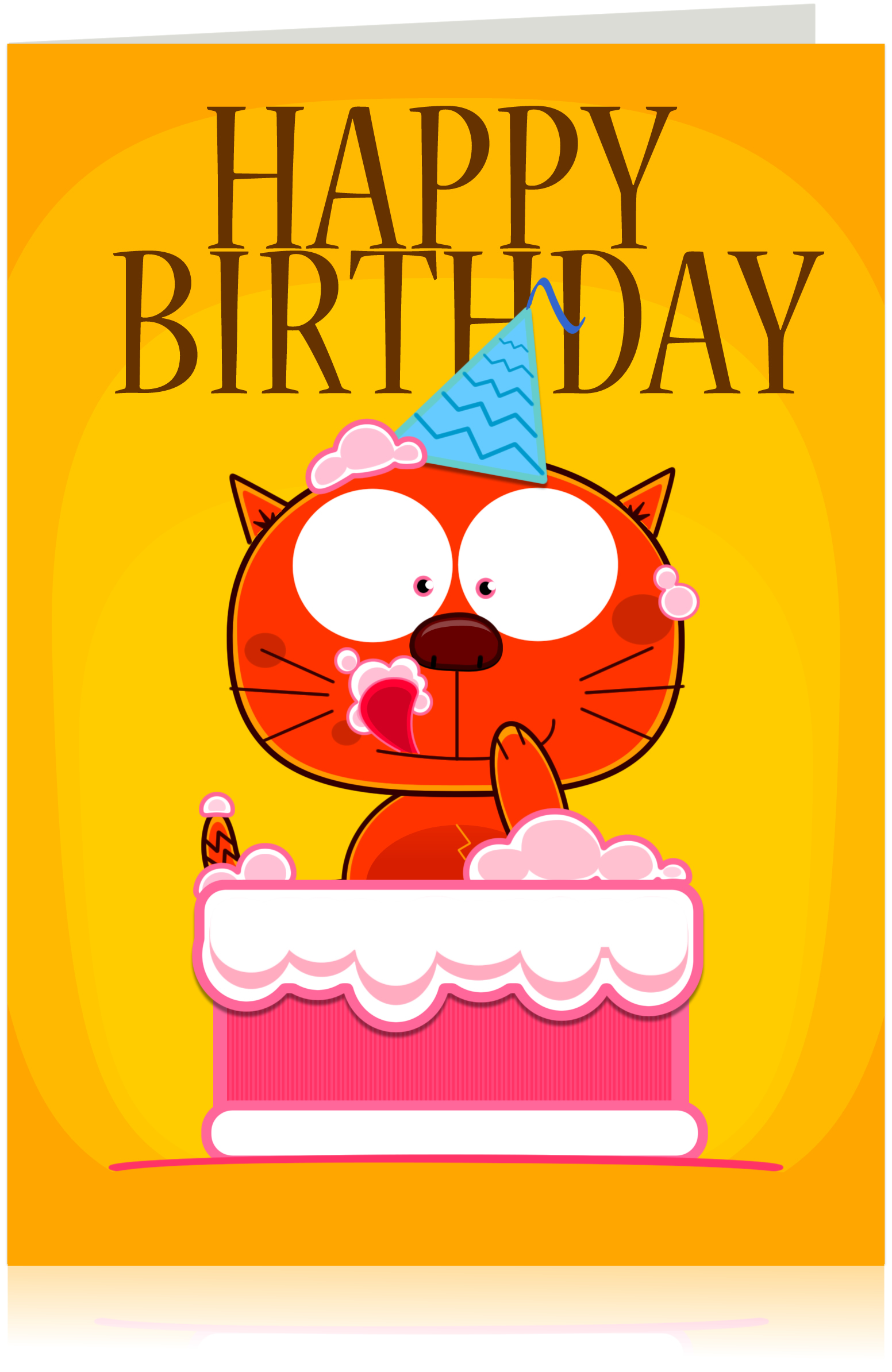 Saniqk design studio blog happy birthday greeting card preview m4hsunfo